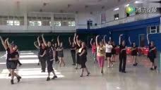 房山区周口店镇瓦井舞蹈队--排练现场