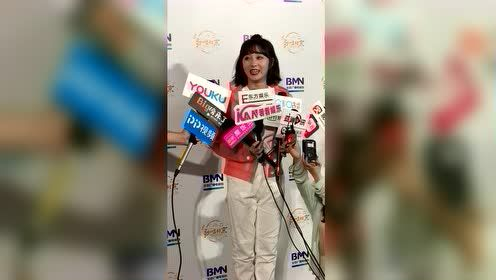 """李子璇发表""""歌唱北京""""获奖感言,全程懵懵好可爱"""