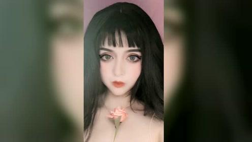 美成欲望的富江仿妆教程