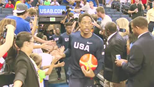 All-Access:  US Olympic Men's Team vs. China