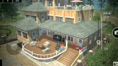 明日之后:三层楼小别墅 带阳台宽敞 内饰空间大