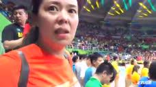 和张常宁袁心玥爸爸妈妈看女排决赛