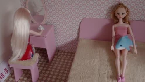 琪琪娃娃手工艺品给芭比娃娃做床简易的简单的容易的腾讯
