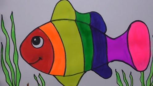 我们来用简笔画一起画珊瑚鱼!效果可真好看呀!玩具故事