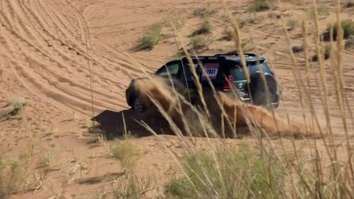 飞驰大漠、畅游沙海,一汽丰田带你High翻阿拉善!
