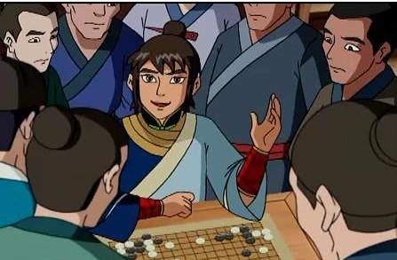 围棋少年 江流儿