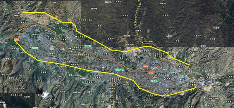 江山路北环路地图