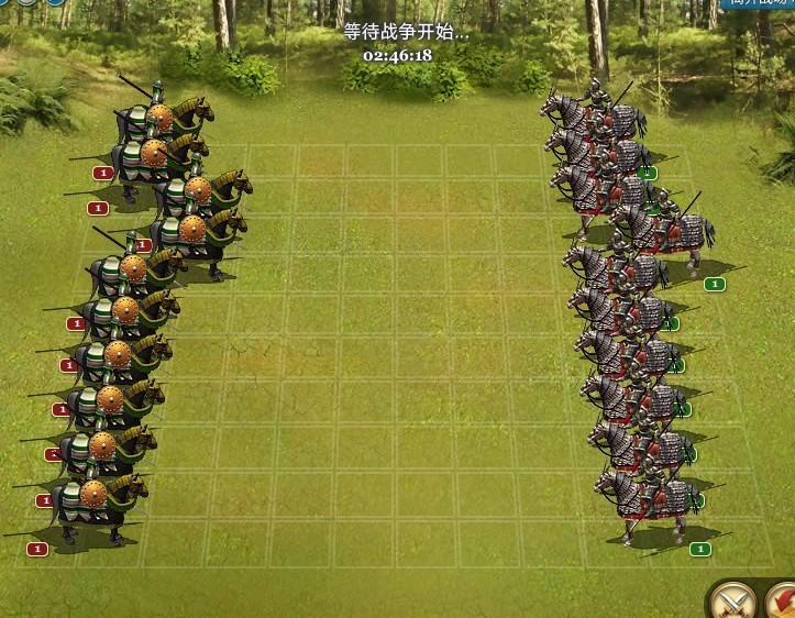 帝国与文明娱乐贴,中国玉林VS波斯铁甲,2小时40分后开战,欢迎竞