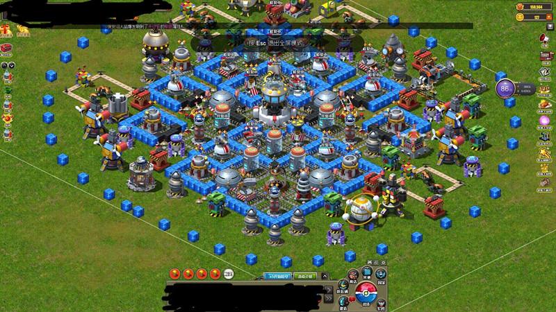 玩具战争玩具战争18级主基地阵型 精品玩家社区图片