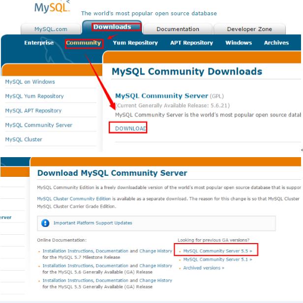 编译安装Mysql5.5.4