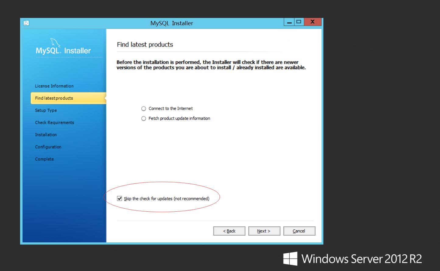 Windows Server 2012 配置指南 之 MySQL环境搭建篇