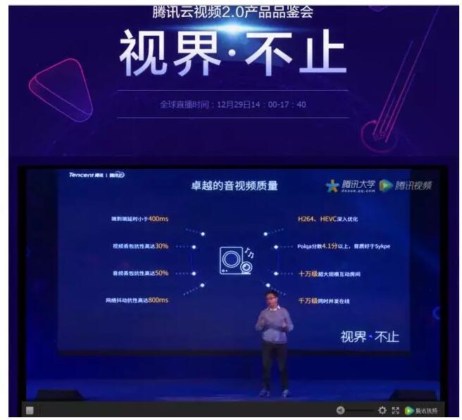 腾讯云发布云视频生态2.0 ,宣布推出1个亿扶持计划