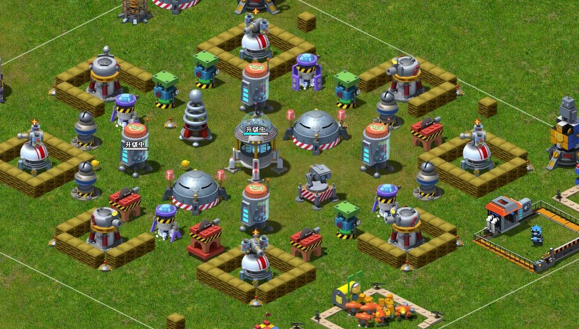 玩具战争求一个八级主基地的阵型 精品玩家社区图片