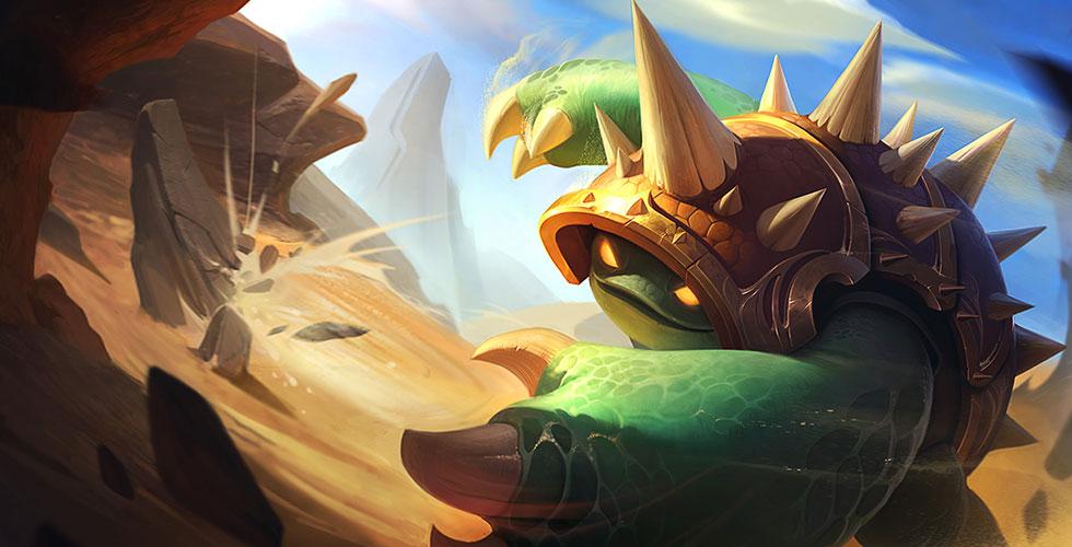 Riot游戏玩法随想:龙龟大招改动 天降龙龟不可阻挡