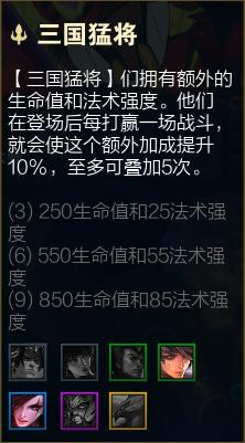 云頂之弈S4.5全羈絆效果詳細數據 羈絆改動情況詳解