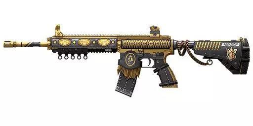 梦幻军需已经上架丨新时装枪械皮肤,狮王绯红霸气登场!