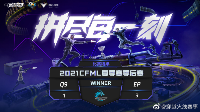 [CFML] 钢枪风暴再现!EP梦回奇迹时代挺进胜者组决赛