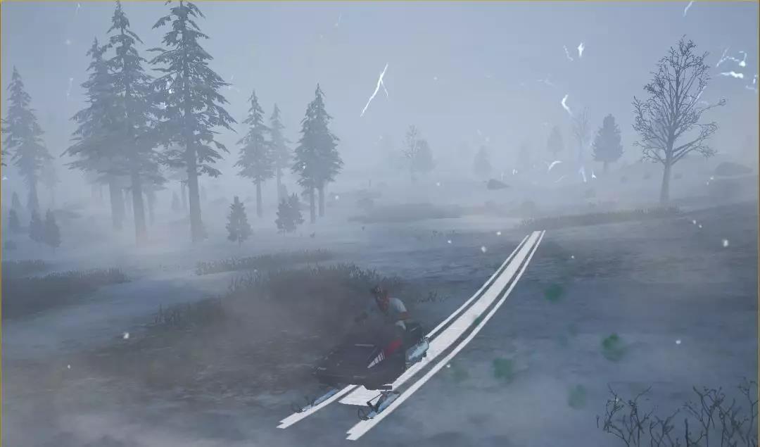 刺激战场春日特训版本更新内容 还原雪地印迹1