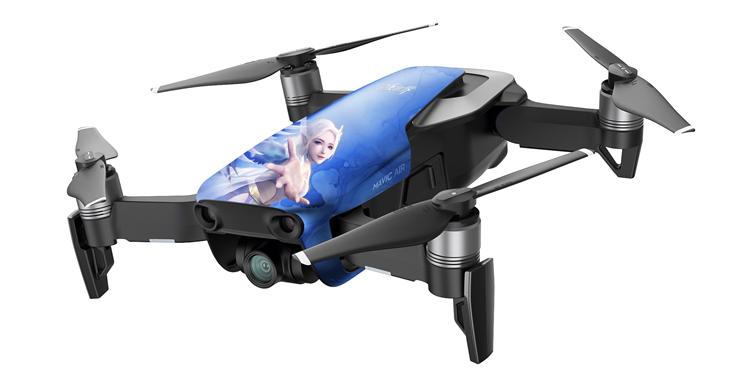 《完美世界》手游联合大疆激活飞行基因,上演游戏与高科技的破次元大show