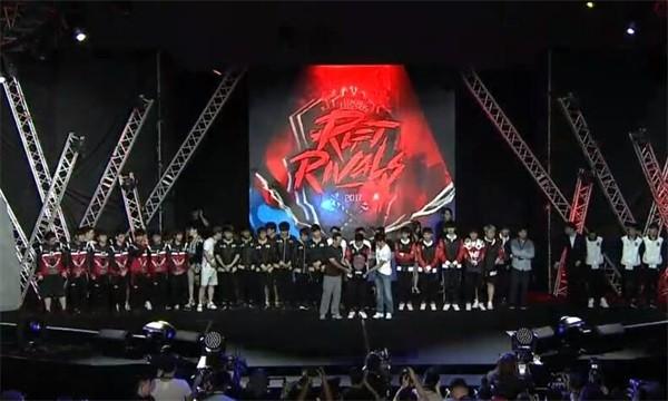 洲际赛LPL全员团结一心!共同抗韩!