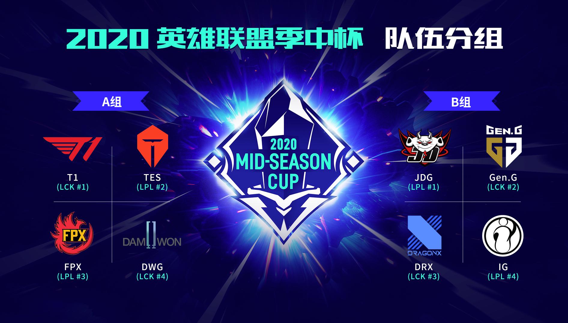 季中杯B组前瞻:新王JDG强势出击 iG能否找回状态