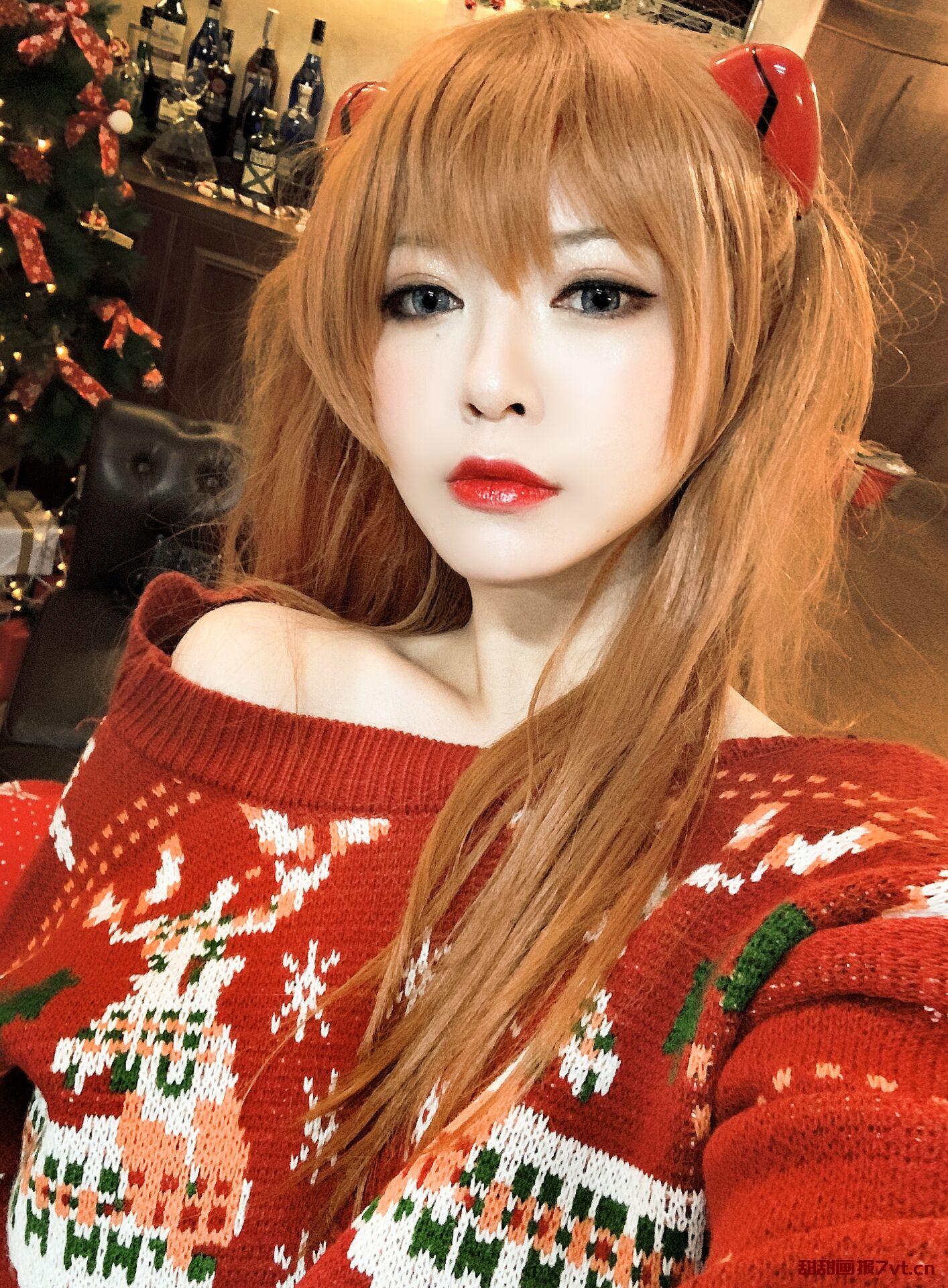 「半半子」式波・ー ASUKA Christmas(41P/153MB)