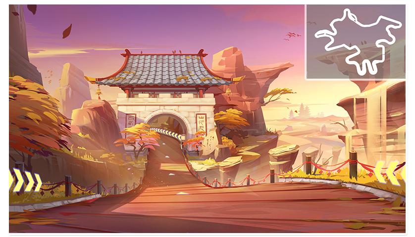 飞车敦煌石窟_新赛道-QQ飞车官方网站-腾讯游戏