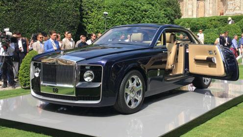 全球最貴豪車,價值9000萬,全球限量一臺,為一名中國人量身打造圖片