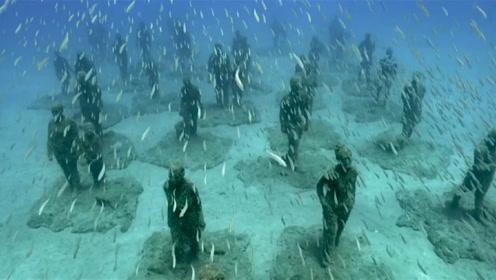 """南海現""""神秘人""""站海底一動不動,機器掃描結果一出,徹底懵了!圖片"""