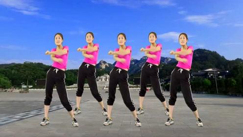 健身舞《學生全民》動感好看節奏,情歌簡單動作歡快初中女裸易學足圖片