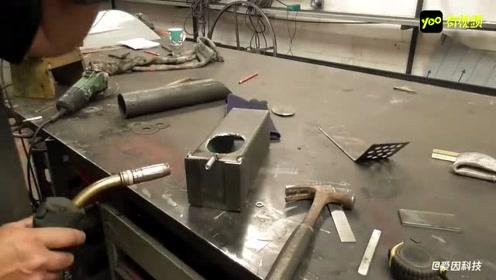一种国外火箭炉制作方法,这样的发明值得推广,太实用了