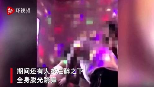 군인들이 노래방에서 아가씨 노…
